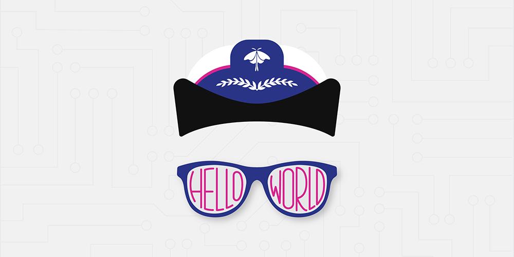 2017 Grace Hopper Celebration Hello World Design by Course Hero