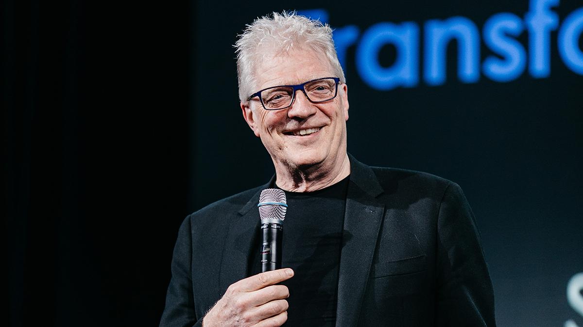 Sir Ken Robinson at Course Hero Education Summit