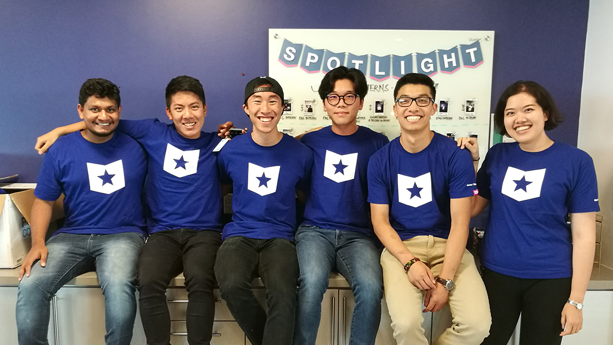 Course Hero engineering interns summer 2018