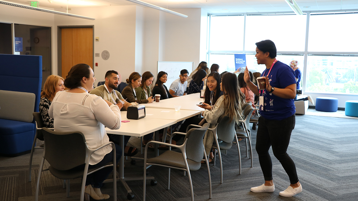 student workshop at Course Hero Education Summit 2018