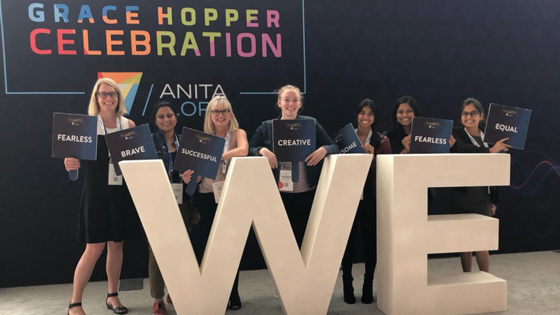 Course Hero at Grace Hopper Conference