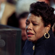 Maya Angelou speaking