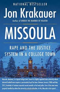 Book cover for Missoula