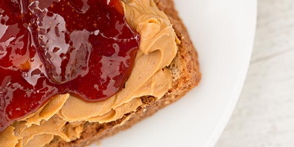 peanut butter polite study snack