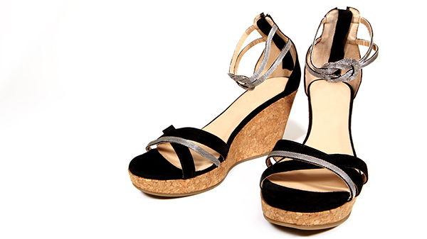 wedge sandals for graduation