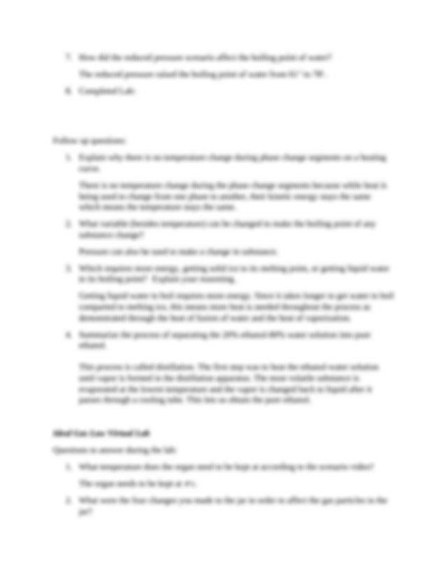 lab 10 worksheet.docx - Lab 10 Matter and Phase Changes ...