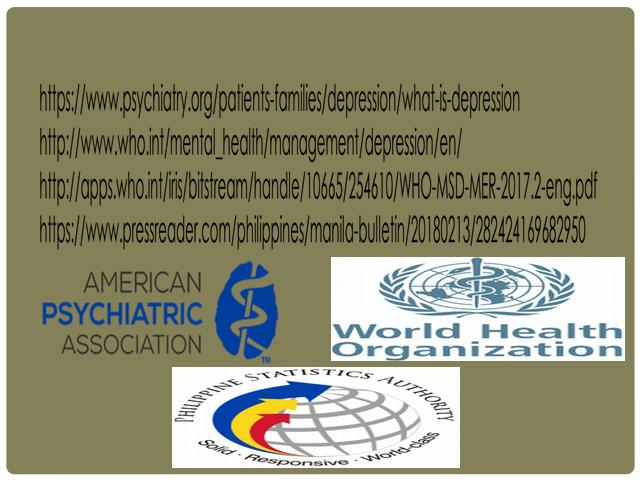 POWERPOINT.depression.pptx - DEPRESSION AS A PROBLEM ...