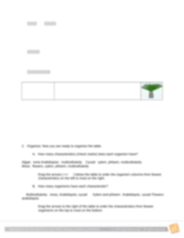 CLADOGRAM GIZMO HANDOUT.docx - Name Zahra Date May05 2020 ...