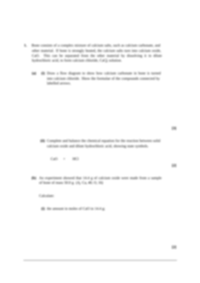 Ocr salters chemistry coursework help