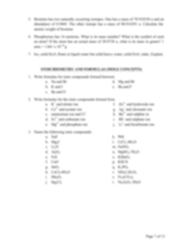 Write formulas for the following a lithium selenide b ...