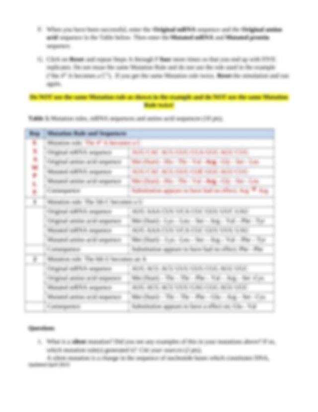 Week 5 Experiment Answer Sheet- BI101 (2).docx - UNIT 5 ...
