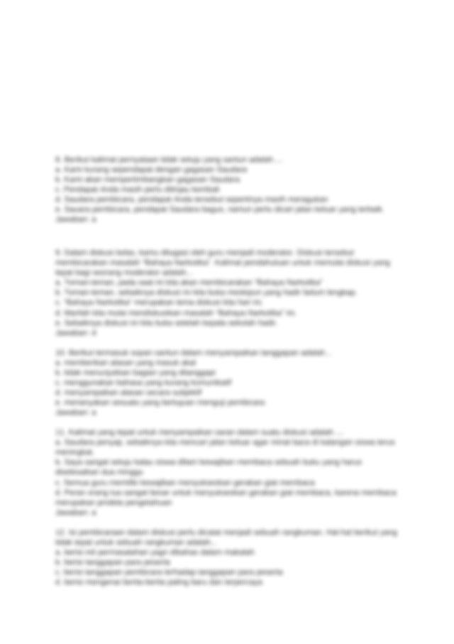 Dokumen (15).docx - 1 Pernyataan yang benar tentang ...