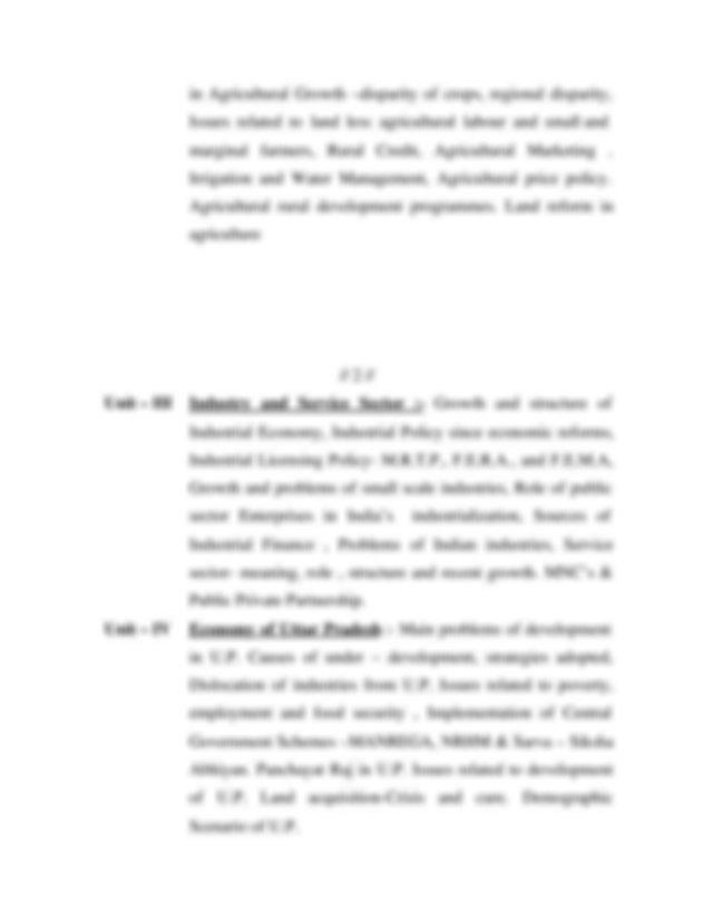 BA Economicspdf ECONOMICS BA I BA BSc Paper I MICRO