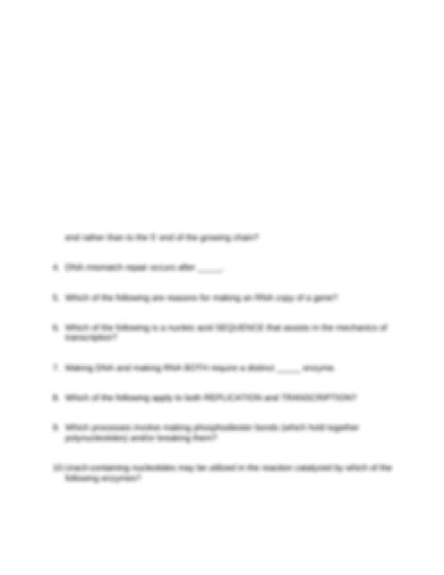 Quiz #6 worksheet - PCB 3023 Quiz#6 Fall 2014 This ...