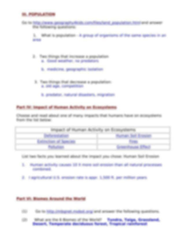 ecology webquest day 1 key (1) - Name_Date_Per Ecology ...