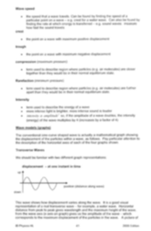 Ib Physics Chapter 4 Notes