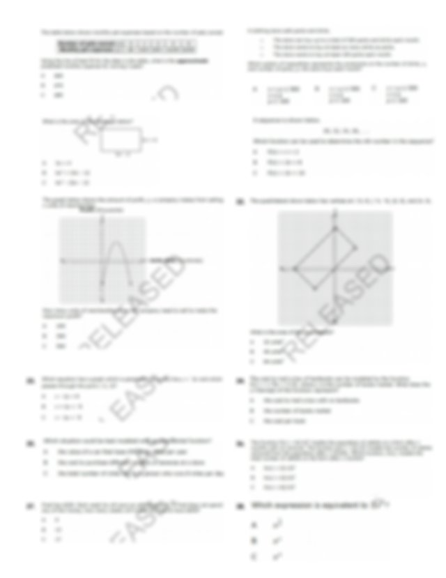 math_1_eoc_review_packet - EOC Review Packet Name Math 1 ...