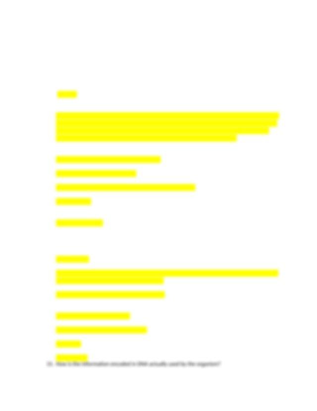 Biology 1201 Study Modules.docx - Biology 1201 Study ...