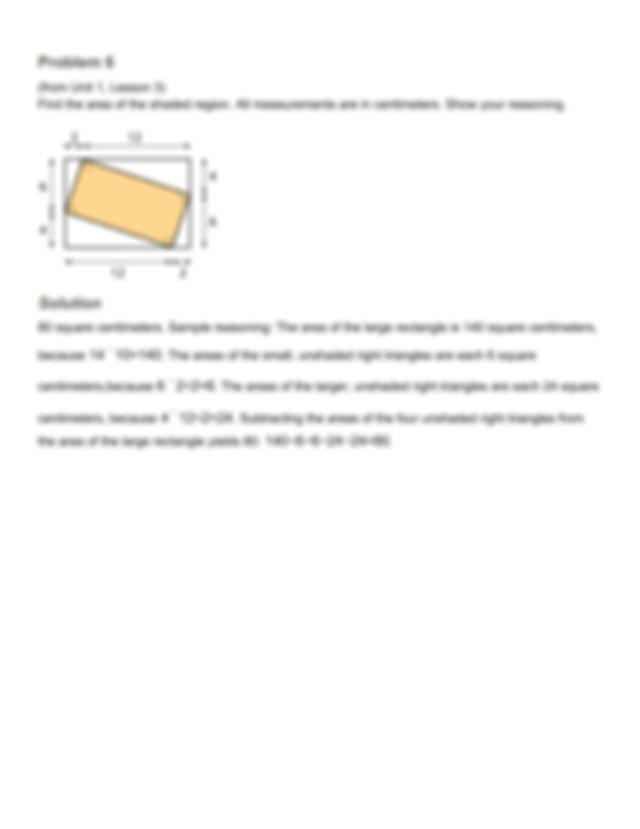 Lesson 6 HW Answer Key.pdf - Lesson 6 Problem 1 Which ...
