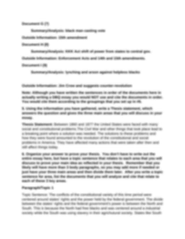 English essay article format