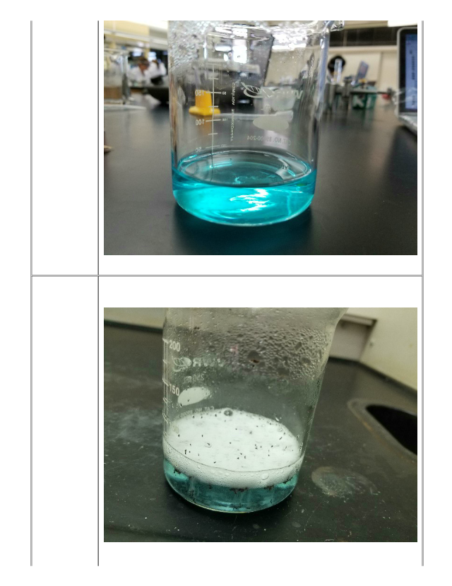 6 M hydrochloric acid is very corrosive causing severe ...