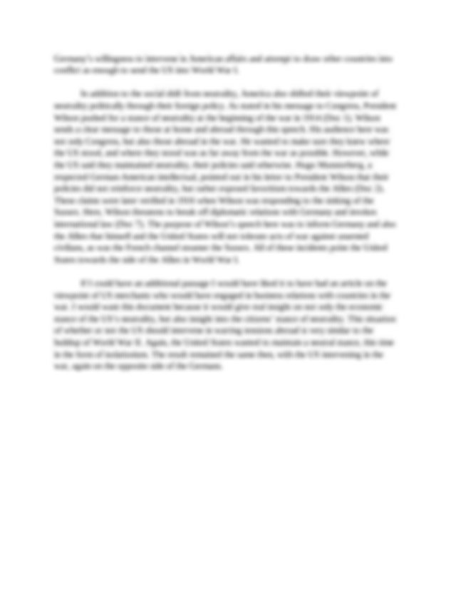 Preschool observations essays