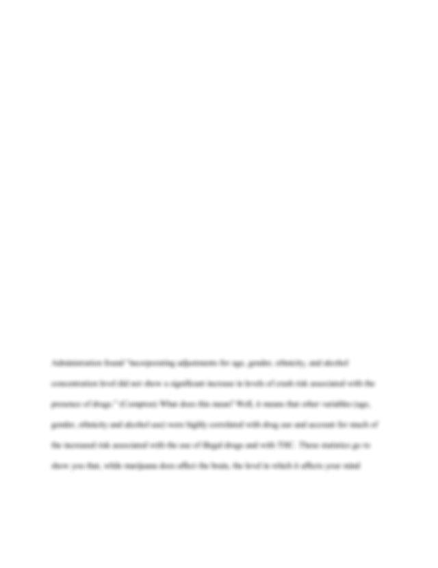 Argumentative Essay  Should Marijuana Be Legalized  Pdf