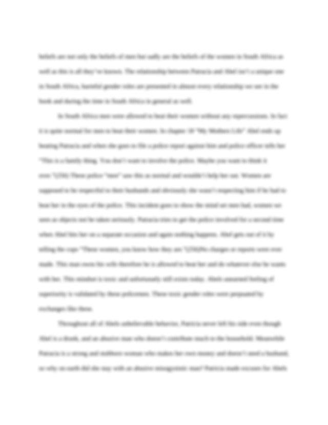 Elements of argumentative essay