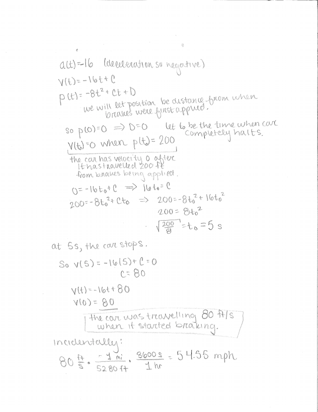 Worksheet 5 Answers   Position Velocity Acceleration Word ...