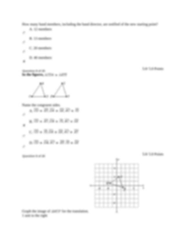 Pre Algebra Part 2 Lesson 3 - 03 Lesson 3 Exam 3 Return to ...