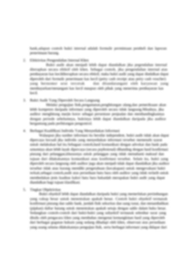 73 Persuasif Bukti Audit Standar Audit Mengharuskan Auditor Untuk Mengumpulkan Course Hero