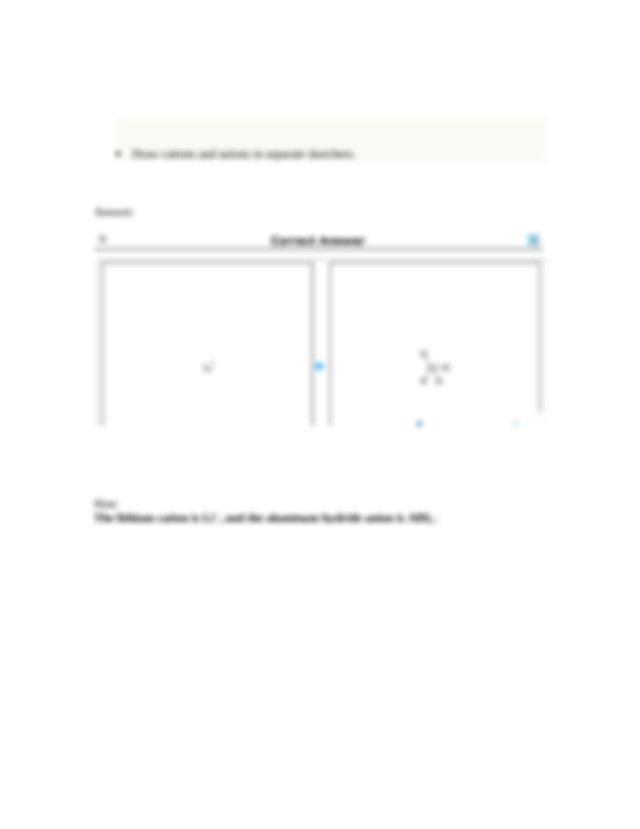 Orgo H1 Q15 - Lithium aluminum hydride LiAlH4 contains ...