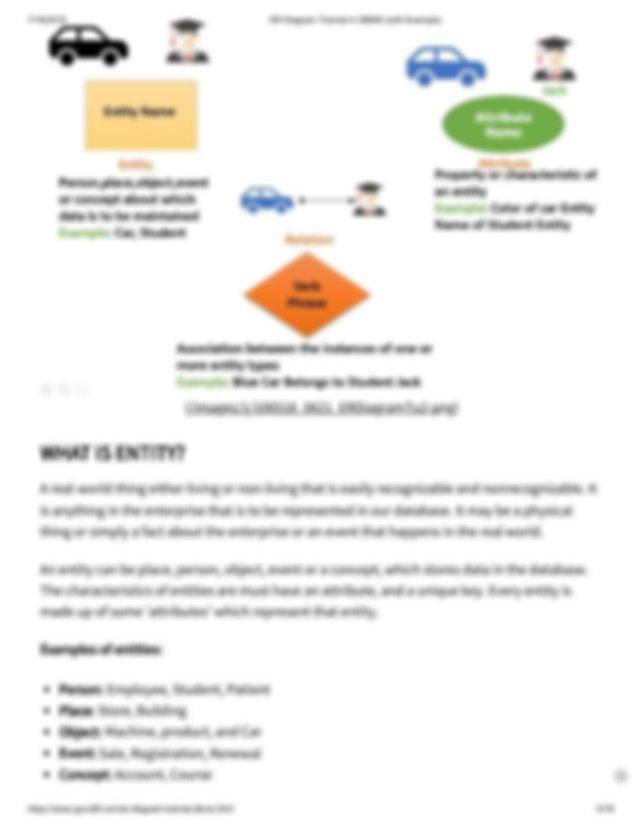 Er Diagram Tutorial In Dbms Pdf   Guru99 Com