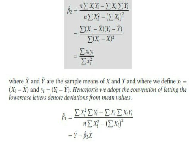 Single equation regression models