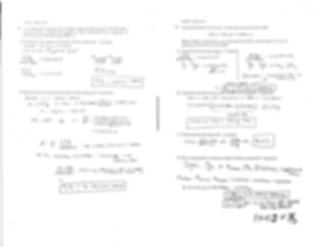 General Chemistry Final Exam Sample (answers) (2 ...