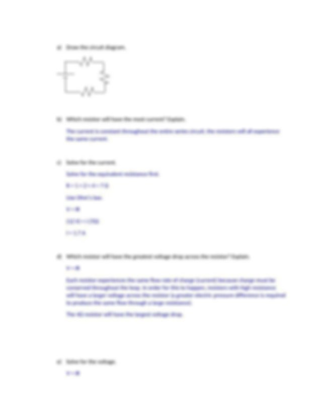les 6 a.docx - Answer key 6.1 Series and Parallel Circuits ...