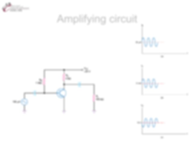 two port models for bjt transistor circuit analysis or