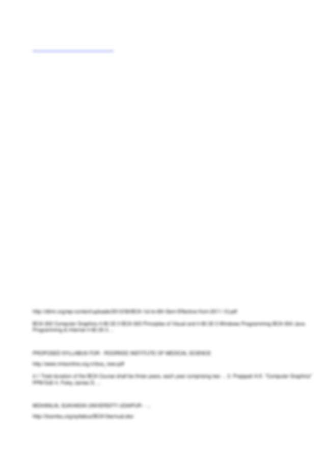 BCA Books & Notes in PDF Download /Download BCA Notes for ...