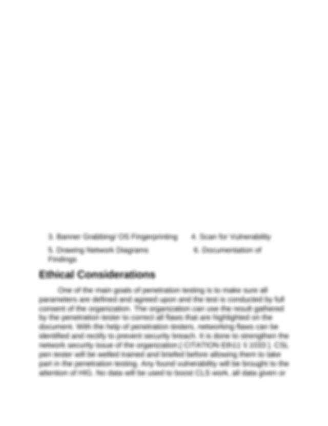 Penetration testing proposal Kendall - Ttusps