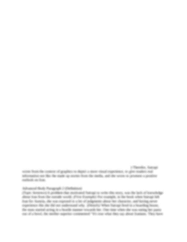 Essay opener examples