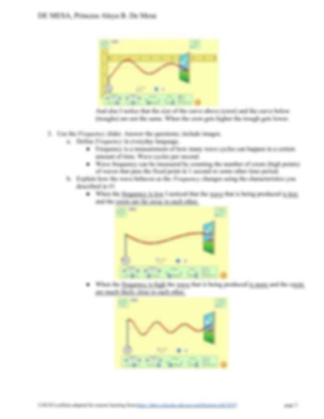 (Lab Report) Waves on a String Remote Lab (1).pdf - DE ...