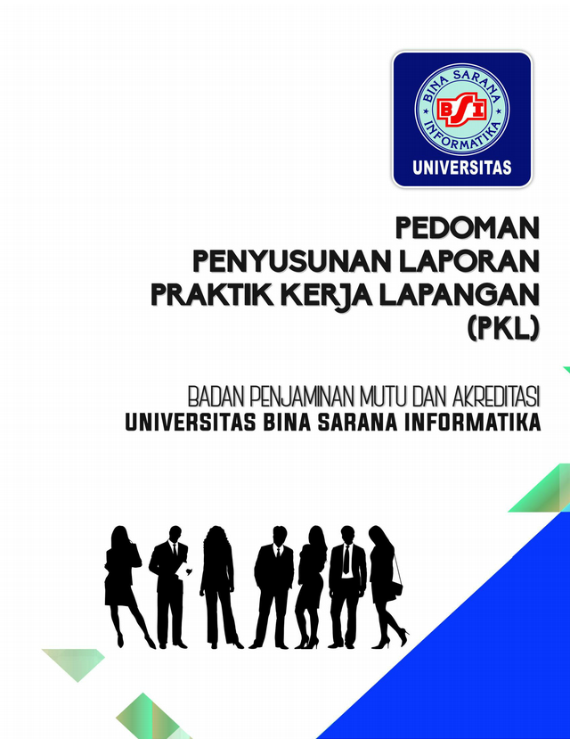 Pedoman Lap Pkl Ubsi 2019 Pdf Pedoman Penyusunan Laporan Praktik Kerja Lapangan Pkl Universitas Bina Sarana Informatika Badan Penjaminan Mutu Course Hero