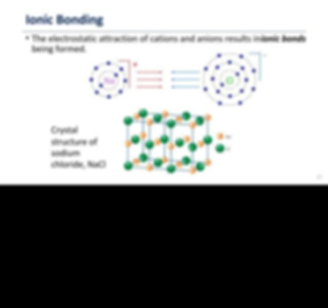 Many atoms may gain or lose electrons to form ions which ...