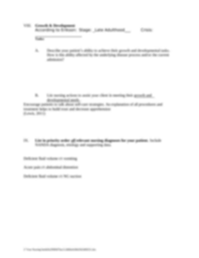 333600033-Care-Plan-Small-Bowel-Obstruction.doc - HOWARD ...