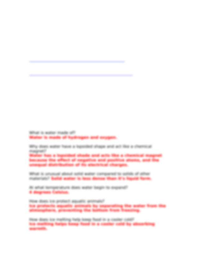 Water Finished Webquest.docx - Properties of Water ...