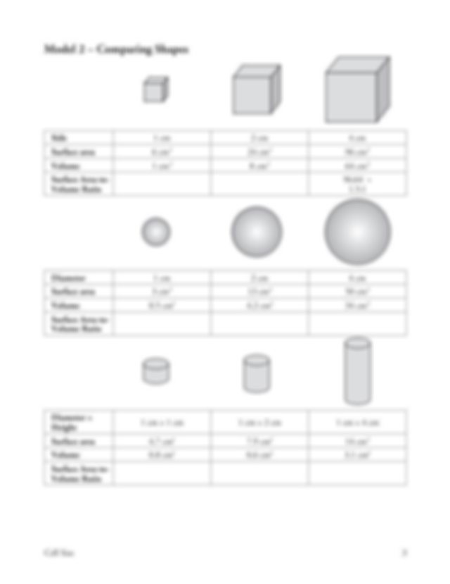 Cell_Size_discovery - Cell Size What determines the size ...