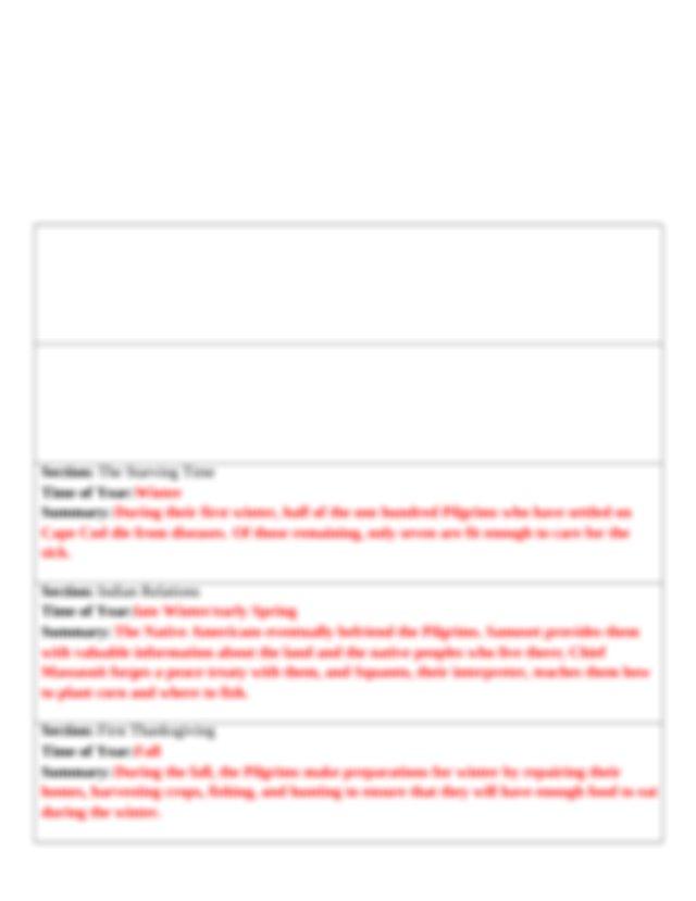 of_plymouth_plantation_summarization__questions_answer_key ...