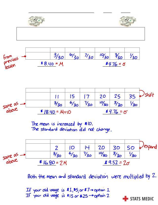 KEY 6.2 - Transforming Random Variables Answer Key (1).pdf ...