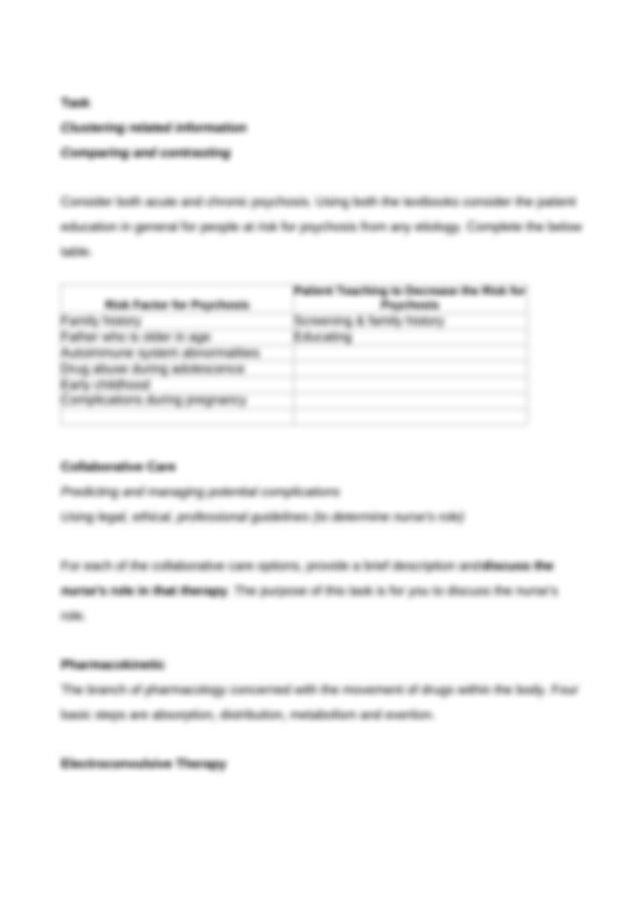 Mental Health Week 6 Pre-Class Assignments.doc - Concept ...
