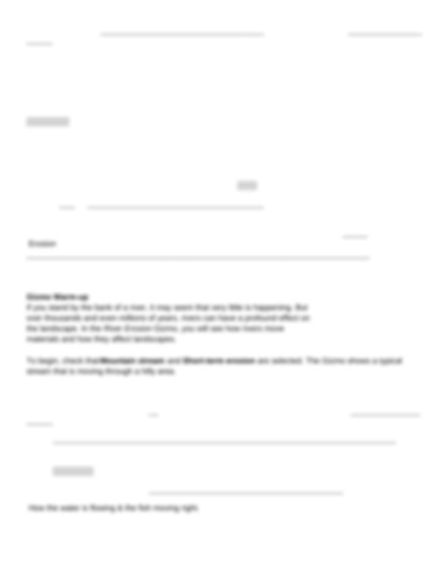 Copy of River Erosion Gizmo - Name Hawa Ahmed Date Student ...
